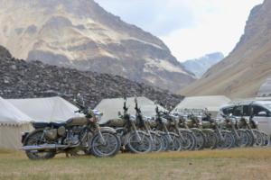 Camping At Sarchu